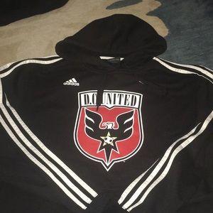 Men's Adidas size large black hoodie
